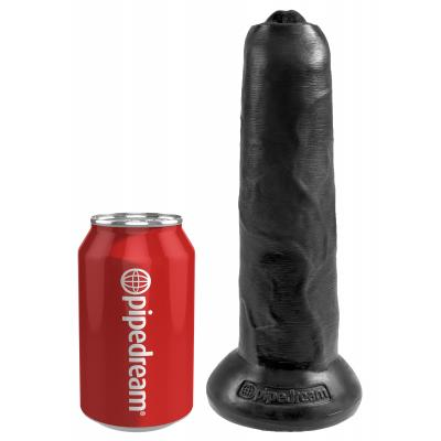 King Cock 9 in. Uncut - Black - King Cock - PD5562-23 - 603912750874