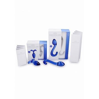 Chrystalino Flask Blue - SHOTS TOYS - CHR004BLU - 8714273302991