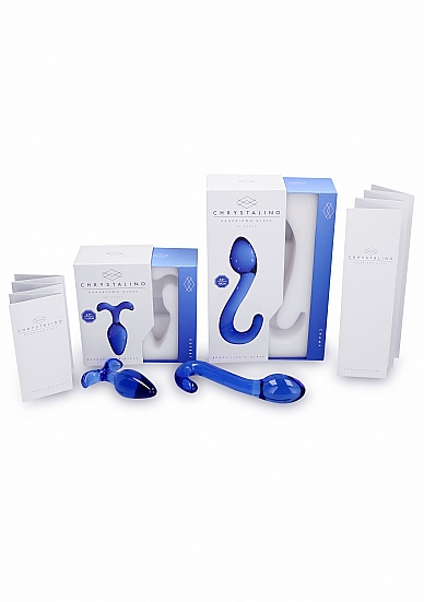 Chrystalino Champ Blue - SHOTS TOYS - CHR007BLU - 8714273303028