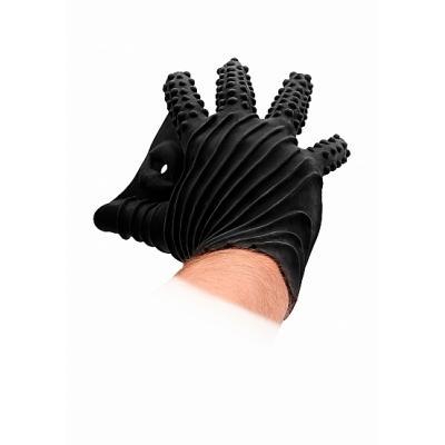 Fist It Masturbation Glove - Black - SHOTS TOYS - FST003BLK - 8714273945730