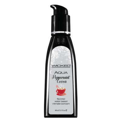 Wicked Aqua Peppermint Cocoa flavoured Lubricant 60ml