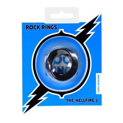ABS Holdings Rock Rings Hellfire L Cock Ring Black F0096B10PTCS 5060365094613