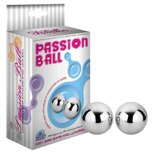 Passion Ball - Stainless Steel Duo Balls - Set of 2 - AN-PS05-02