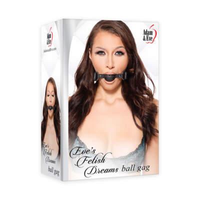 Adam Eve Eves Fetish Dreams Ball Gag Black AE FD 7235 2 844477017235 Multiview