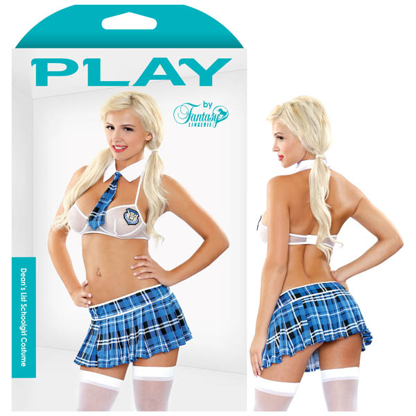 PLAY Dean's List Schoolgirl Costume - M/L - B-PL1304ML - 811432026687