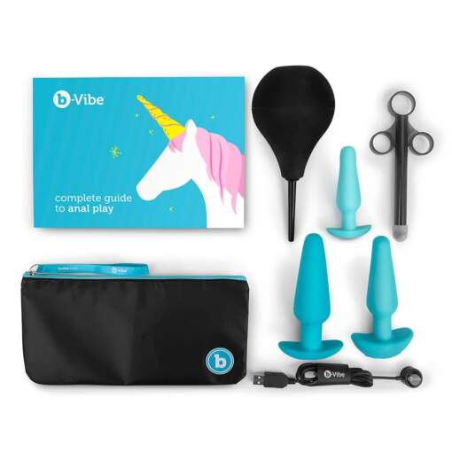 B Vibe Anal Training and Education Set BV 012 4890808210734 Contents Detail