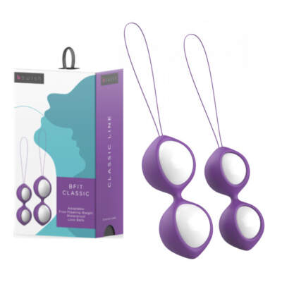 BFit Classic Kegel Balls Purple BSCFI0099 4897106300099 Multiview