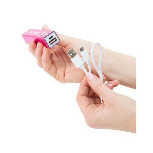 BMS Palmpower Plug Play Massager with 2600mah Powerbank Portable USB 30728-4 677613307286