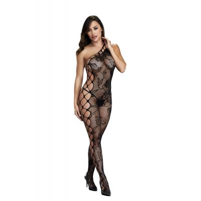 Baci Lingerie White Label Off the shoulder with side ladder detail bodystocking OS BLW5003 4890808200230