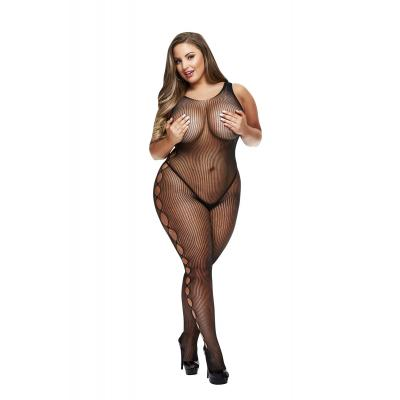Baci Lingerie White Label Open side sleeveless bodystocking Queen BLW5005 Q 4890808200285