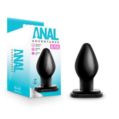 Blush Anal Adventures XL Plug Black BL 19705 819835025962 Multiview