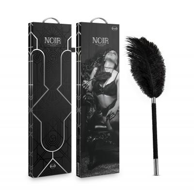 Blush Noir Feather Tickler Black BL89205 819835024828 Multiview
