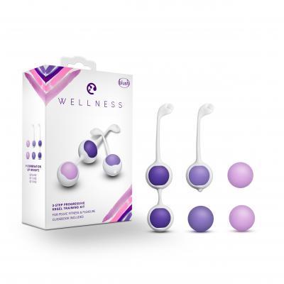Blush Wellness 3 Step Progressive Kegel Training Kit Purple BL-444004 819835024125