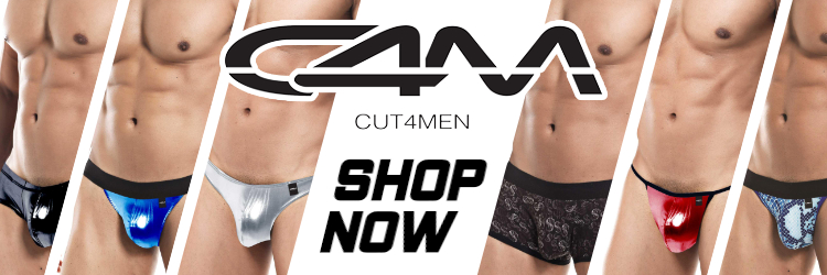 C4M Mens Underwear 3 Up Banner