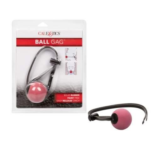 Calexotics Ball Gag Rubber Red Black SE 2740 00 2 716770011251 Multiview