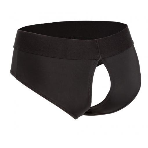 Calexotics Boundless Backless Brief Harness Black L XL SE 2701 10 3 716770096265 Back Detail