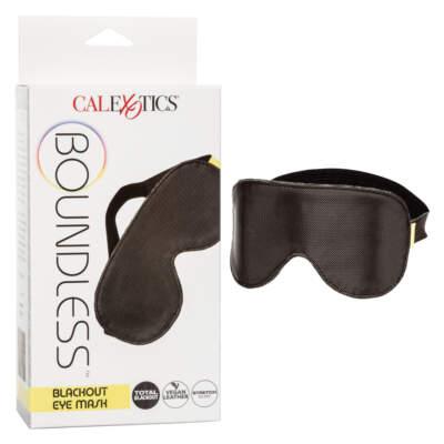 Calexotics Boundless Blackout Eye Mask Black SE 2702 11 3 716770097033 Multiview