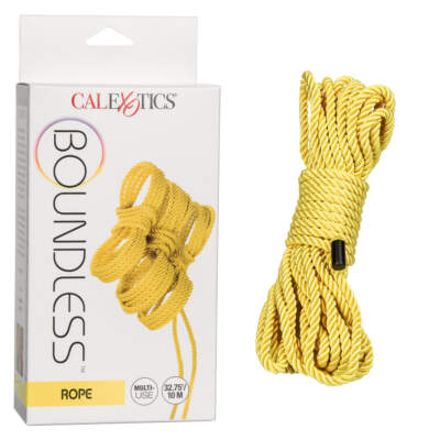 Calexotics Boundless Bondage Rope 10m Yellow SE 2702 96 3 716770097125 Multiview