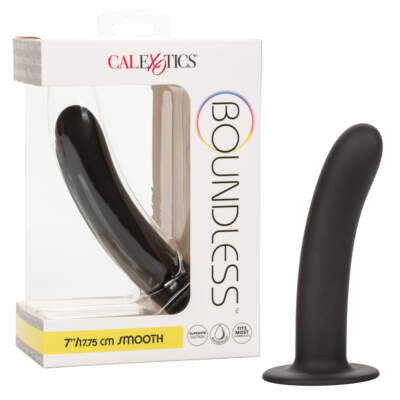 Calexotics Boundless Silicone 7 Inch Smooth Probe Black SE 2700 25 3 716770096159 Multiview