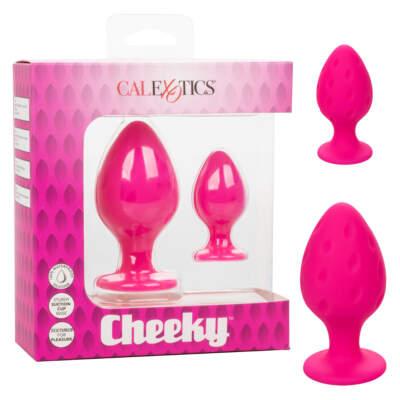 Calexotics Cheeky 2Pc Anal Plug Set Pink SE 0440 10 3 716770096999 SMultiview