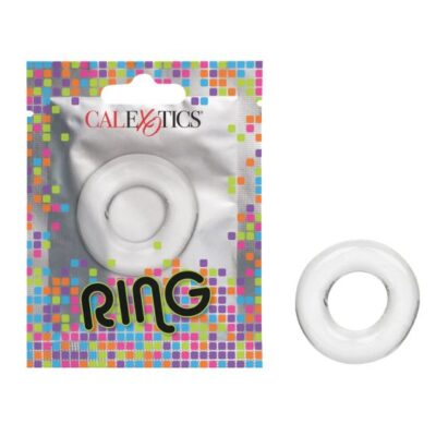 Calexotics Foil Pack Cock Ring Clear SE 8000 05 1 716770097545 Multiview