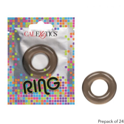 Calexotics Foil Pack Cock Ring Smoke SE 8000 10 1 716770097569 Multiview