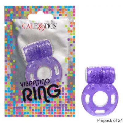 Calexotics Foil Pack Vibrating Cock Ring Purple SE 8000 40 3 716770097682 Multiview