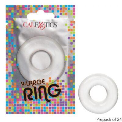 Calexotics Foil Pack XL Cock Ring Clear SE 8000 15 3 716770097583 Multiview