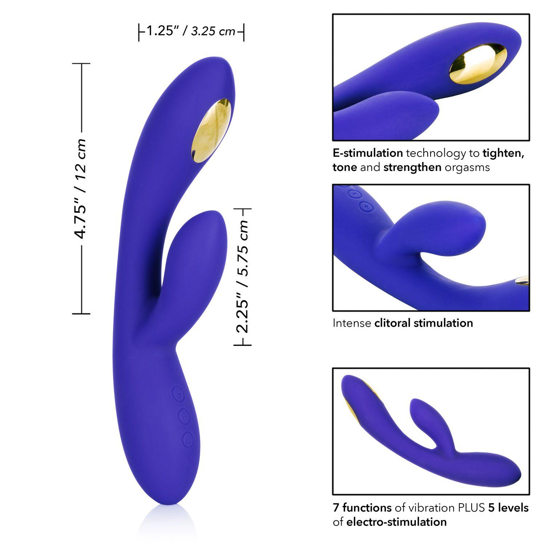 Calexotics Impulse Intimate E-Stimulation Purple SE-0630-50-3 716770091239