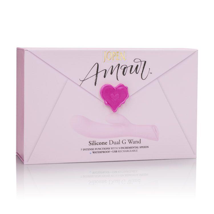 Calexotics Jopen Amour Silicone Dual G Wand Pink JO-8010-40-3