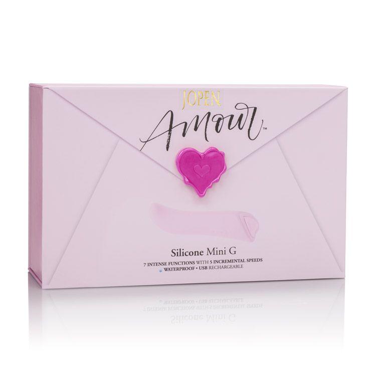 Calexotics Jopen Amour Silicone Mini G Pink JO-8010-20-3