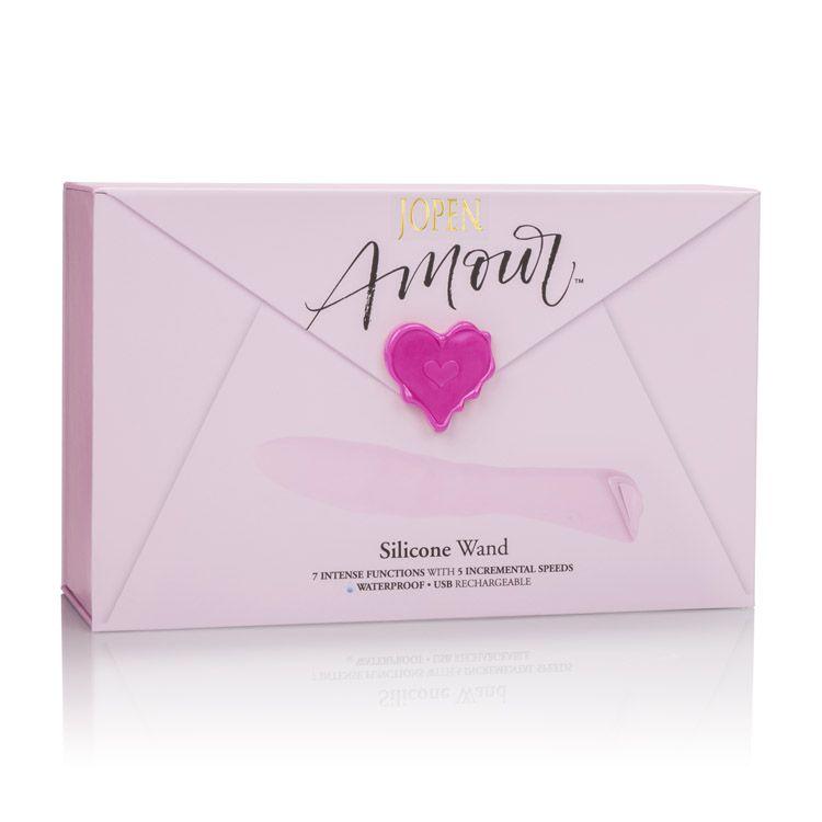 Calexotics Jopen Amour Silicone Wand Pink JO-8010-30-3