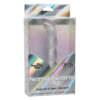 Calexotics Naughty Bits Screwnicorn Sleeved Jelly G Spot Vibrator Glittery Silver SE 4410 17 3 716770094360 Boxview