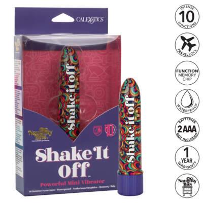Calexotics Naughty Bits Shake It Off Mini Smoothie Vibrator SE 4410 08 3 716770096838 Multiview
