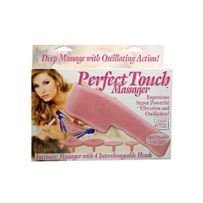 Calexotics Perfect Touch Massager Pink 2088-04-3 716770044594