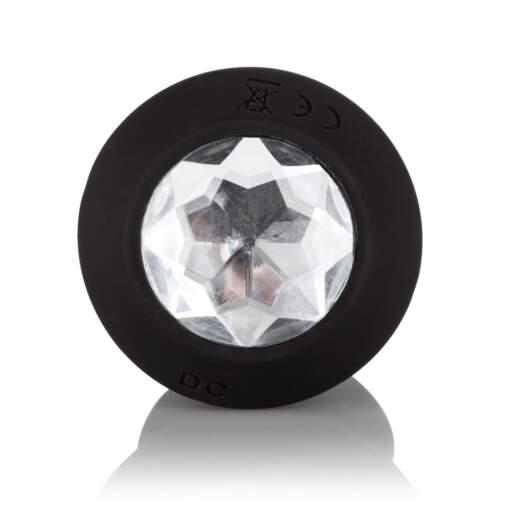 Calexotics Power Gem Vibrating Petite Crystal Probe Black SE-0385-05-3 716770092502