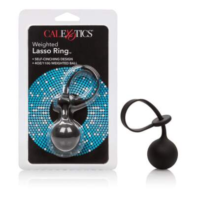 Calexotics Silicone Weighted Lasso Ring Black SE-1413-85-2-716770089434