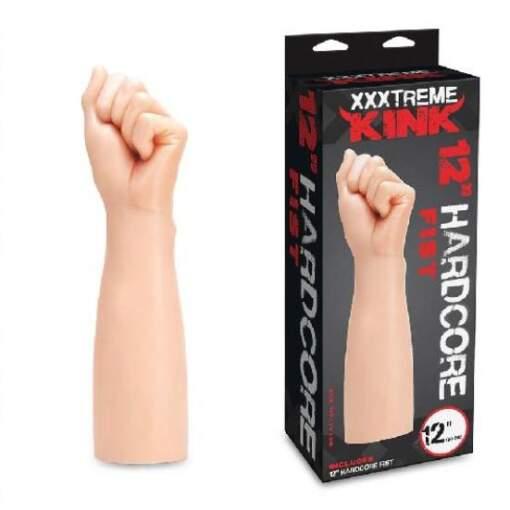 XXXTREME KINK 12 Inch Hardcore Fist Dong Flesh XXXT-005 884472024432
