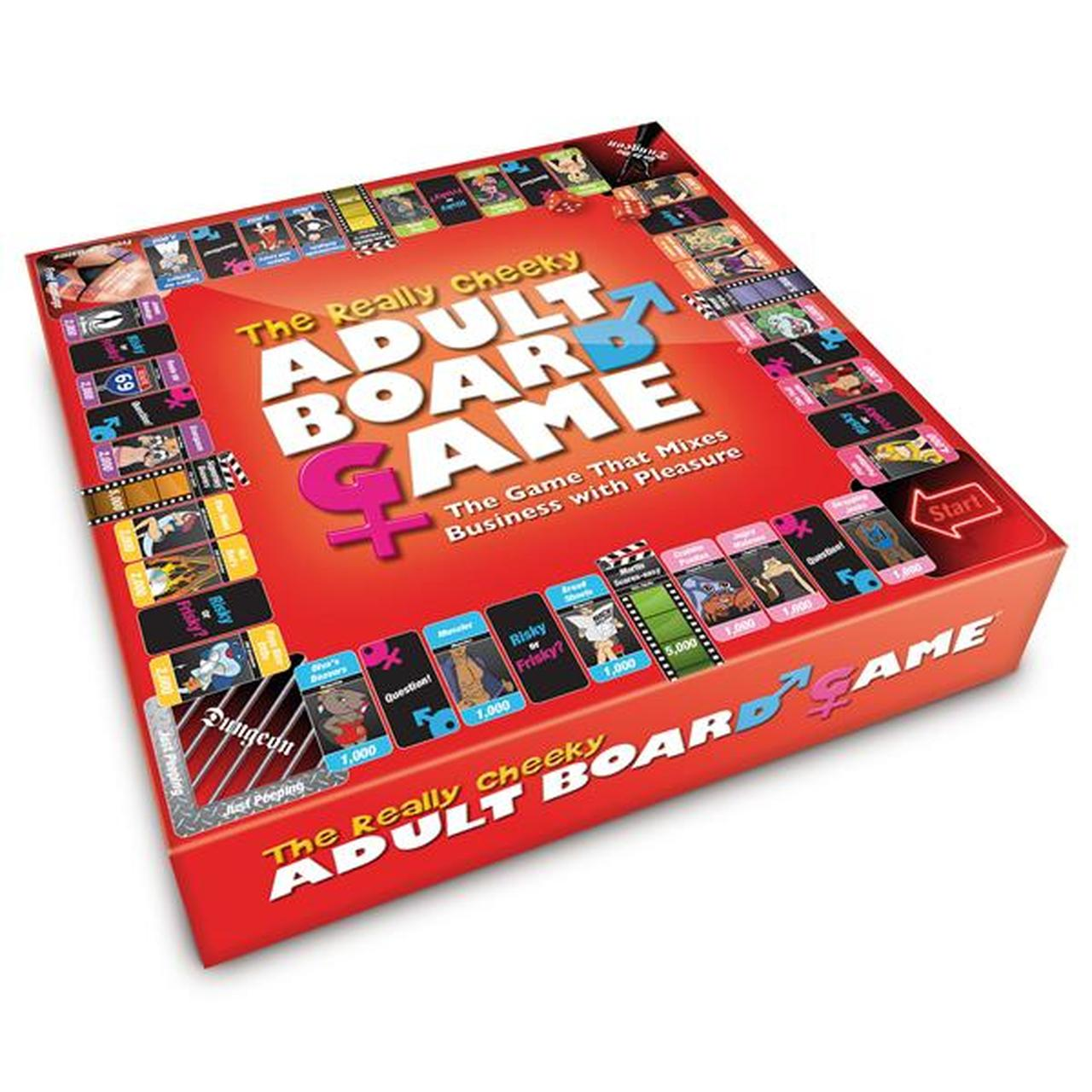 Creative Conceptions A Really Cheeky Adult Board Game for Friends 5037353000888 Boxview