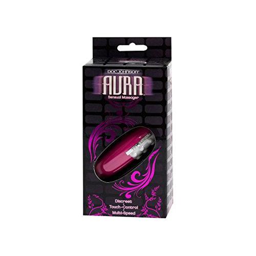 Doc Johnson Aura Sensual Massager Clitoral White Pink 0355-01-BX 782421921316