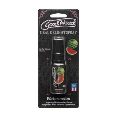 Doc Johnson Goodhead Oral Delight Spray 29ml Watermelon 1360 42 BX 782421070083 Fix Boxview