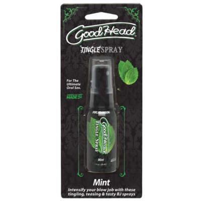 Doc Johnson Goodhead Tingle Spray Mint 29ml 1360 63 CD Boxview