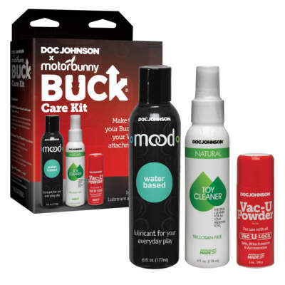 Doc Johnson Motorbunny Buck Care Kit 9000 50 BX 782421078133 Multiview