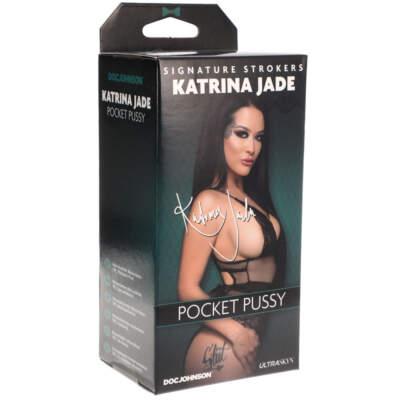 Doc Johnson Signature Strokers Pocket Pussy Stroker Katrina Jade Light Flesh 5510 21 BX 782421077631 Detail