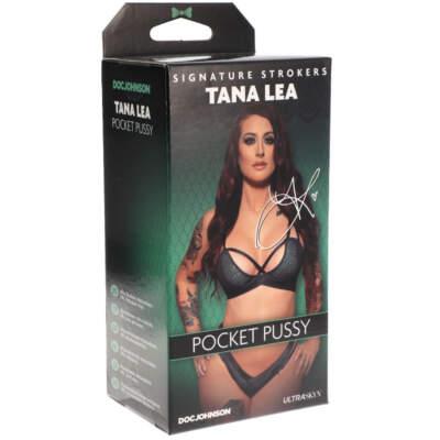 Doc Johnson Signature Strokers Pocket Pussy Stroker Tana Lea Light Flesh 5510 30 BX 782421077785 Detail
