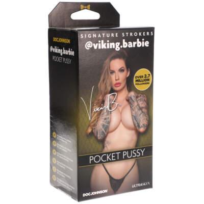 Doc Johnson Signature Strokers Pocket Pussy Stroker viking barbie Light Flesh 5510 03 BX 782421077594 Detail