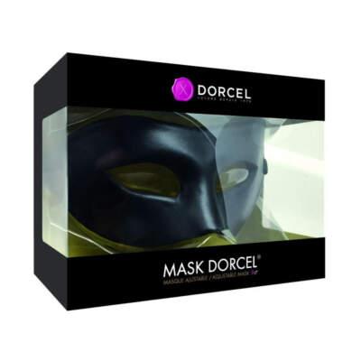 Dorcel Mask Adjustable Face Mask Black 6071915 3700436071915 Boxview