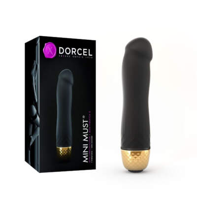 Dorcel Mini Must Vibrator Black Gold 6072011 3700436072011 Multiview