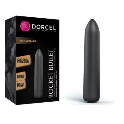 Dorcel Rocket Bullet Rechargeable Bullet Vibrator Black 6072356 3700436072356 Multiview