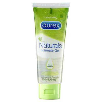 Durex Naturals Intimate Gel 100ml 9300631390466 Boxview